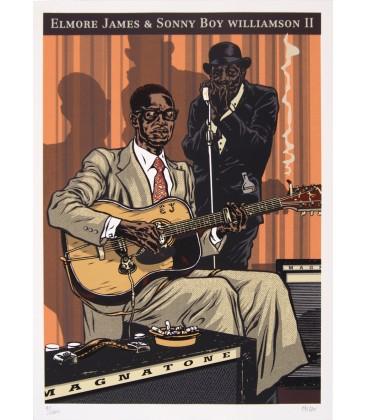 Elmore James & Sonny Boy Williamson II