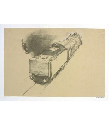 Mourenx Le train