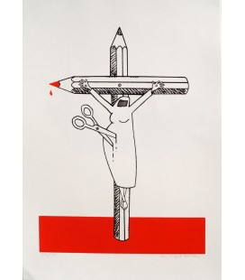 Crucifiée en Burqua