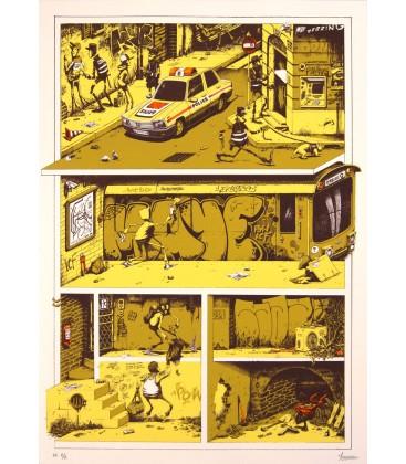 Course poursuite (jaune)