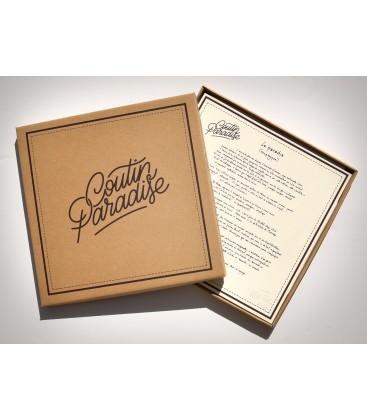 """Pizza-Box """"Coutin Paradise Le Paradis Tryptique"""""""