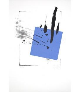 Sans titre Bleu (Triptyque)