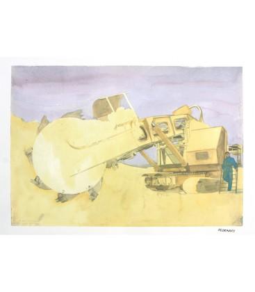 Mourenx Excavatrice