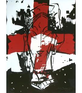 Sans titre Croix Rouge Black