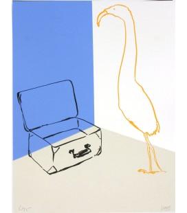 Ibis et valise