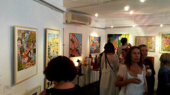 Exposition à la Galerie Plurielle (Sète)